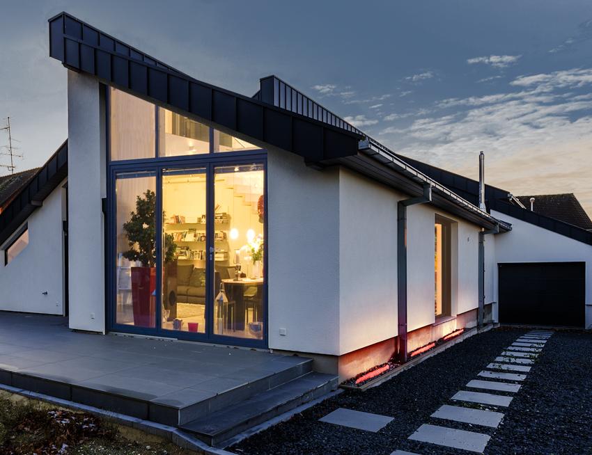gabionen beleuchtung gabionen led licht mit einer gabionen leuchte. Black Bedroom Furniture Sets. Home Design Ideas