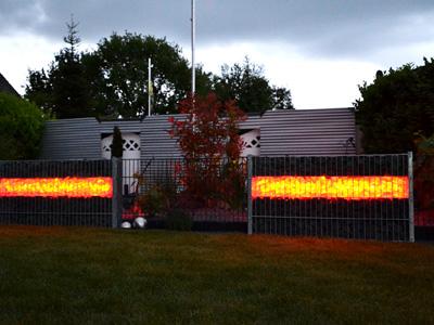 gabionen led licht gabionen mit licht gestalten. Black Bedroom Furniture Sets. Home Design Ideas